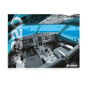 AIRBUS A320 COCKPIT POSTER