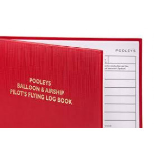 NLB070 POOLEYS BALLOON AND AIRSHIP PILOT'S LOG BOOK