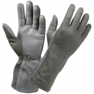 Foliage Green Military Flame Resistant Flight Gloves