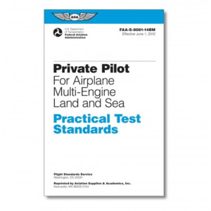 ASA PTS Private Pilot For Airplane Multi-Engine Land And Sea