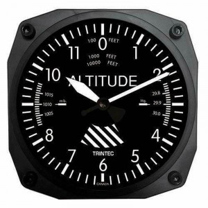 ALTIMEETER WALL CLOCK