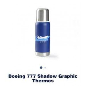 .Boeing 777 Shadow Graphic Thermos