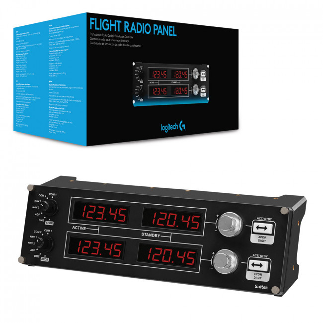 FLIGHT RADIO PANEL