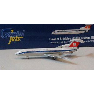 GEMINI JETS 1/400 CYPRUS AIRWAYS HAWKER SIDDELEY HS121 TRIDENT GJCYP774