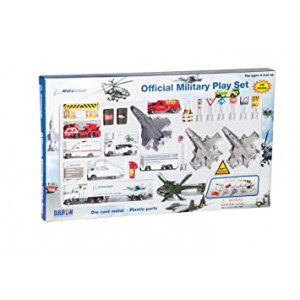 Daron Boeing Military Aircraft Playset