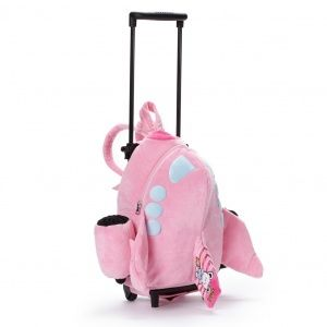Jet Airplane Trolley Backpack