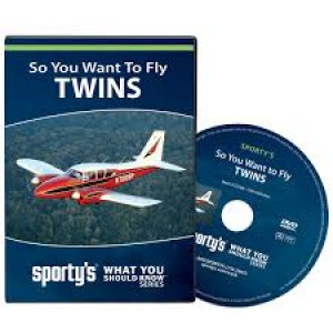 sporty's so you want to fly twins  DVD