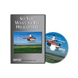 sporty's DO U WANT TO FLY HELICOPTERS DVD