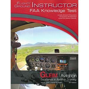 Flight/Ground Instructor FAA Knowledge Test Book - 2017