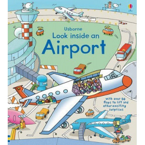 Look Inside an Airport  BOOK W/FLAPS