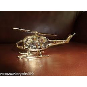 CHOPPER CRYSTALS SILVER PLATED