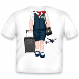 TODDLER TEE-FLIGHT ATTENDANT