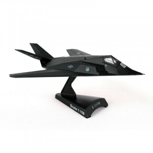 Postage Stamp USAF F-117 Nighthawk 1:150 Scale Model Plane