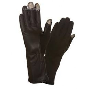 Touch Screen Nomex Flight Gloves - Black