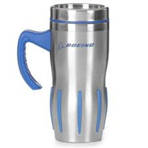 Boeing Stainless Steel Grip Tumbler with Handle