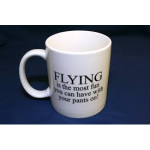 FLYING PANTS MUGS