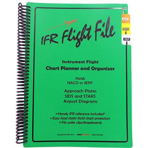 IFR Flight File Instrument Flight Chart Planner and Organizer for Pilots  ملف حفظ الخرائط