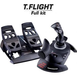 Thrustmaster T.Flight Full kit, Realistic And Ergonomic Joystick   TM-JSTK-TFLGHT-FULLKIT