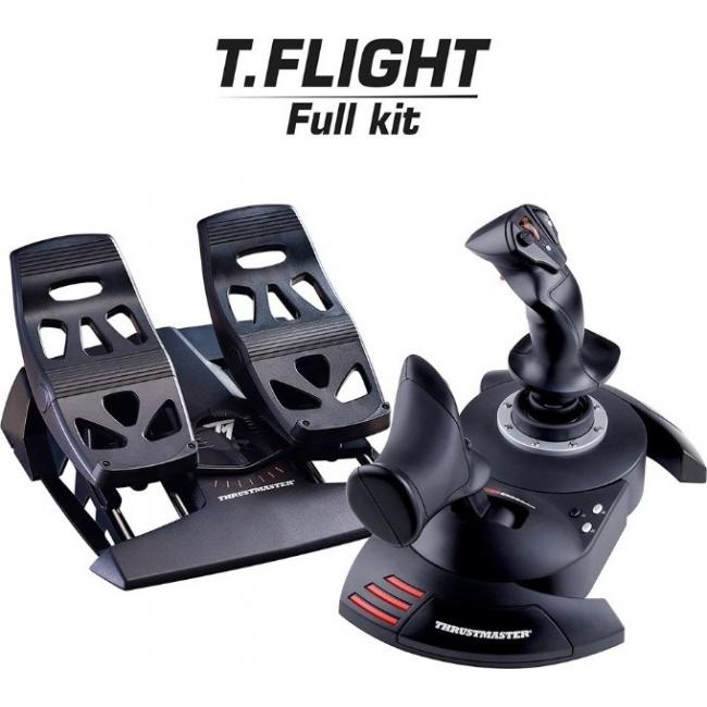 Thrustmaster T.Flight Full kit, Realistic And Ergonomic Joystick | TM-JSTK-TFLGHT-FULLKIT